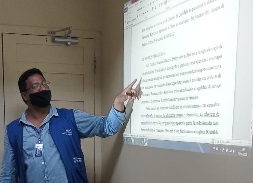 Derick Cordovil de Castro, chefe de Engenharia da Agência Distrital de Icoaraci (ADIC).